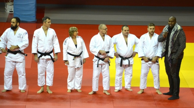 Le Judo Club Baudricourt à la Teddy Riner académie