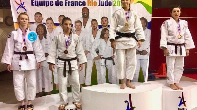 JCB aux championnats de Paris ce week-end !
