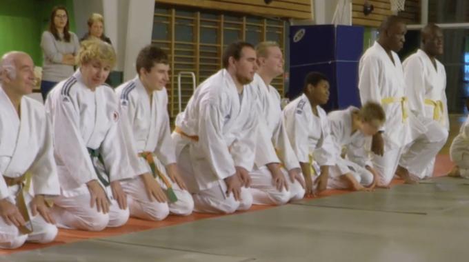 [ <i class='fa fa-video-camera'></i> Vidéo ] 2ème rassemblement de l'année de judo adapté
