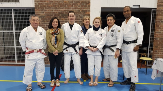 JCB accueille Maitre Motonari SAMESHIMA directeur du Kodokan