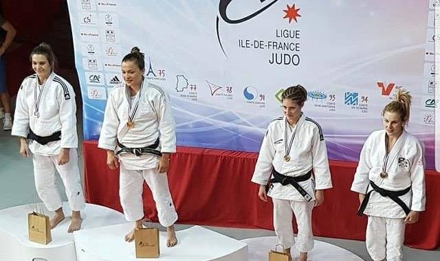 Cindy à la demi-finale des championnats de France de Judo 2018