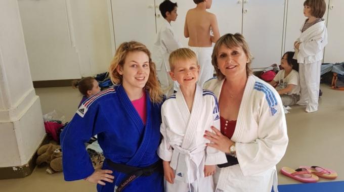 JCB accueille les sportifs non-voyants au judo !