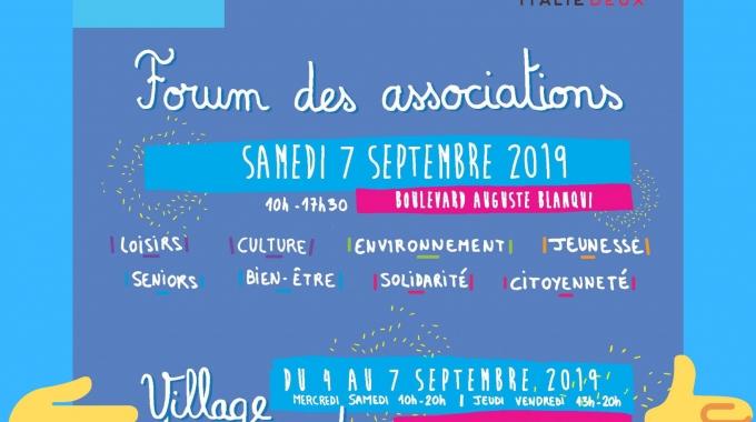 JCB au Forum des Associations – Septembre 2019