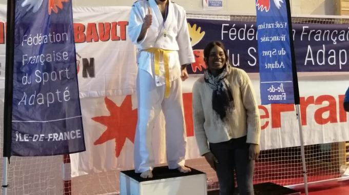 Michael au Championnat régional FFSA (Fédération Française de Sport Adapté)
